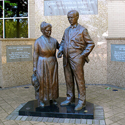 Adolf and Helga Gundersen
