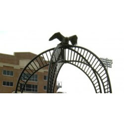 Veterans Memorial Field Eagle – Sculpture