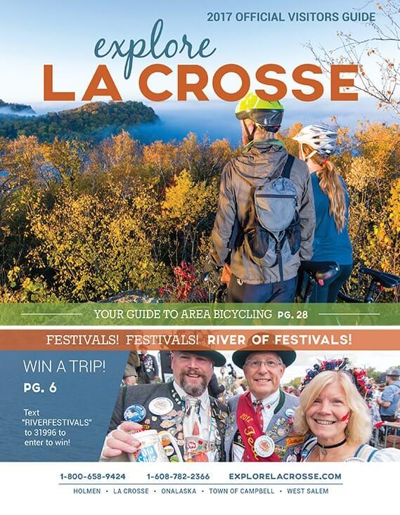 Official La Crosse Are Visitor Guide.