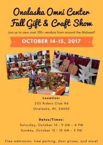 Omni Center Annual Fall Gift and Craft Show @ Onalaska Omni Center | Onalaska | Wisconsin | United States