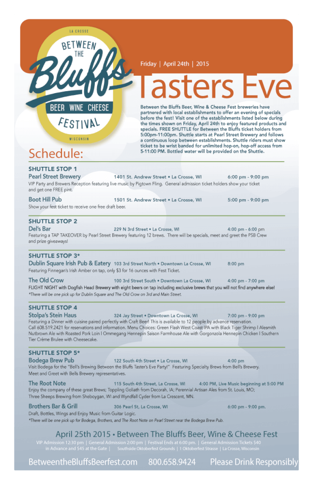 Tasters Eve