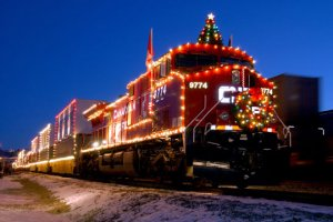 The Canadian Pacific Railway Holiday Train @ Amtrack Station  | La Crosse | Wisconsin | United States