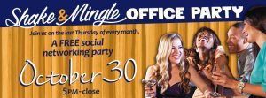 Shake and Mingle Office Party @ Shenanigans Entertainment Center & Sports Bar | La Crosse | Wisconsin | United States