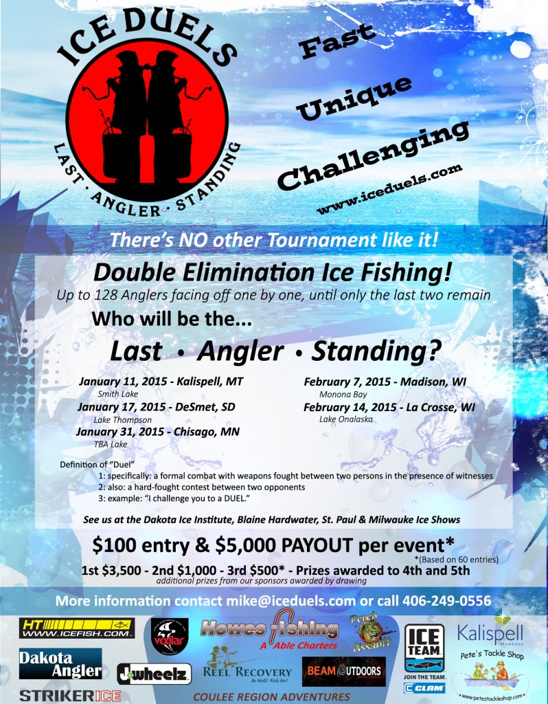 Ice Duels @ Lake Onalaska   Onalaska   Wisconsin   United States