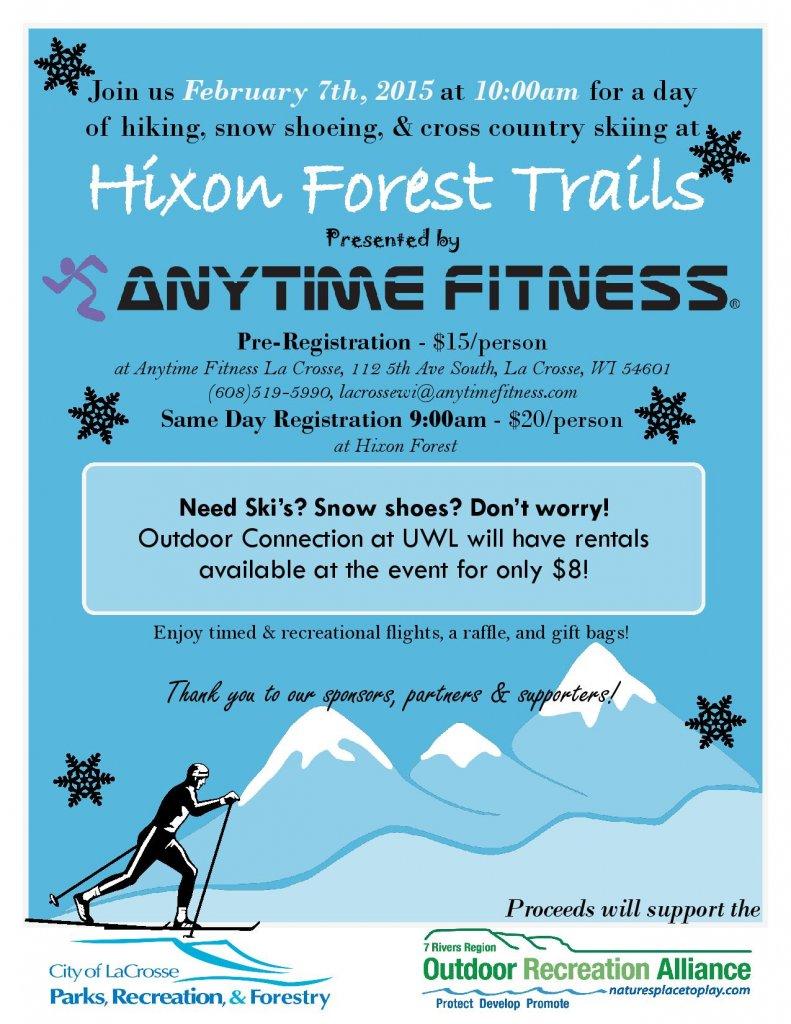 It's Snow Fun @ Hixon Forest Trails   La Crosse   Wisconsin   United States