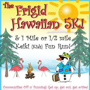 The Frigid Hawaiian 5K @ G-E-T Middle School | Galesville | Wisconsin | United States