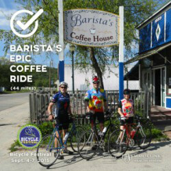 Baristas Epic Coffee Ride