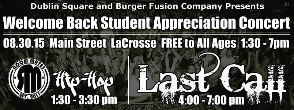 Welcome Back Student Appreciation Concert