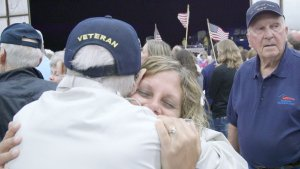 Freedom Honor Flight-Fall Flight #16 @ Cologan Air Hangar #4   La Crosse   Wisconsin   United States