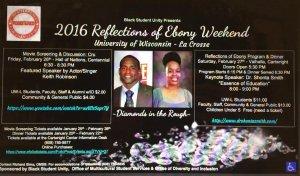 2016 Reflections of Ebony @ Valhalla, Cartwright Center Building    La Crosse   Wisconsin   United States