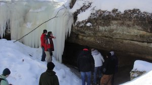 Ice Cave Hike Series @ Kickapoo Valley Reserve | La Farge | Wisconsin | United States