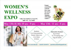 Women's Wellness Expo @ Valley View Mall    La Crosse   Wisconsin   United States