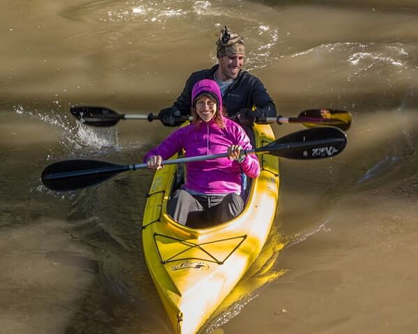 Canoe: Paddle, Bike & Run Triathlon OR Du: Run, Bike, Run Duathlon