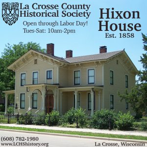Historic Hixon House Tours @ Hixon House | La Crosse | Wisconsin | United States