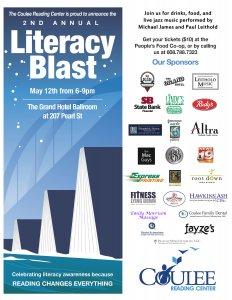Second Annual Literacy Blast @ Grand Hotel Ballroom   La Crosse   Wisconsin   United States