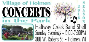 Holmen Concerts In The Park @ Halfway Creek Park Band Shell | Holmen | Wisconsin | United States