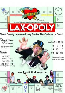 Heart of La Crosse Presents: Lax-opoly @ Pump House Regional Arts Center | Alexandria | Virginia | United States