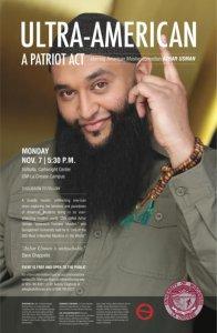 Ultra-American: A Patriot Act starring Azhar Usman, American Muslim Comedian @ Valhalla, Cartwright Center, UW-La Crosse | La Crosse | Wisconsin | United States
