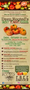 Deep Rooted's Tasty Tomato Festival @ Deep Rooted   Westby   Wisconsin   United States