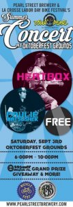 Heatbox with Special Guest Paulie at Oktoberfest Grounds @ Southside Oktoberfest Grounds   La Crosse   Wisconsin   United States