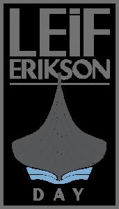 Leif Erikson Day Logo