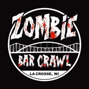 Zombie bar crawl logo