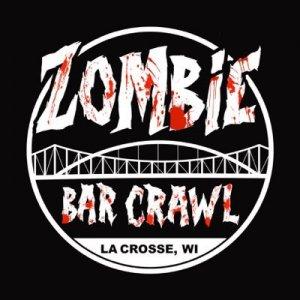 Zombie bar crawl logo