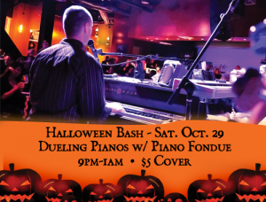 Halloween Bash with Dueling Pianos @ Features Sports Bar & Grill in West Salem | West Salem | Wisconsin | United States