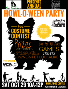 Annual HOWL-O-WEEN Pet Party @ Family Dog Center and The Dawg Haus | La Crosse | Wisconsin | United States