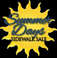 Summer Days Sidewalk Sale @ Downtown Mainstreet