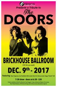 A Tribute to the Doors @ Brickhouse Ballroom   La Crosse   Wisconsin   United States