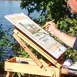 Between the Bluffs Plein Air