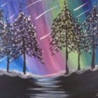 Sip & Paint Stargazer Canvas Painting @ Creative Canvas and Board | La Crosse | Wisconsin | United States