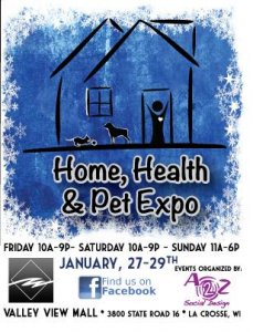 Home, Health & Pet Expo @ Valley View mall | La Crosse | Wisconsin | United States