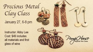 Precious Metal Clay Class (Jewelry) @ Pump House Regional Arts Center | La Crosse | Wisconsin | United States