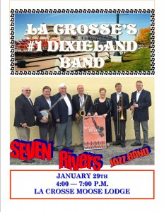 Dixieland Cabin Fever Reliever & Seven Rivers Jazz Band @ La Crosse Moose Lodge | La Crosse | Wisconsin | United States