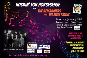 Rockin' for HorseSense with The Remainders @ AmericInn Hotel & Conference Center - Riverfront | La Crosse | Wisconsin | United States