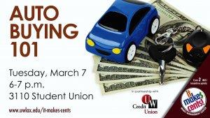Auto Buying 101 @ UWL Student Union | La Crosse | Wisconsin | United States