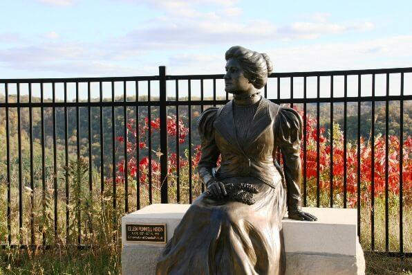 Ellen Hixon Statue