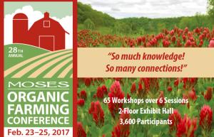 MOSES Organic Farming Conference @ La Crosse Center | La Crosse | Wisconsin | United States