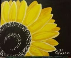 Sip & Paint Sunflower Canvas @ Creative Canvas and Board | La Crosse | Wisconsin | United States