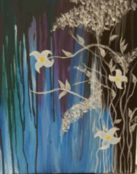 Sip & Paint After the Rain Canvas @ Creative Canvas and Board | La Crosse | Wisconsin | United States