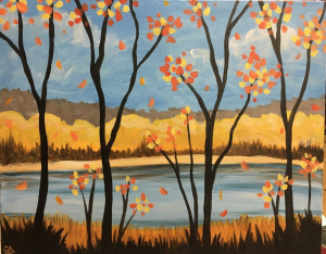 The River Painting Class @ Creative Canvas and Board | La Crosse | Wisconsin | United States