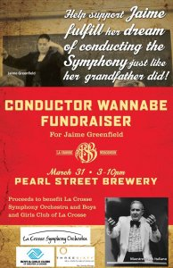Pearl Street Brewery Conductor Wannabe Fundraiser @ Pearl Street Brewery | La Crosse | Wisconsin | United States