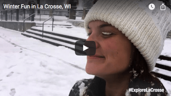 Winter Fun in La Crosse, WI (Video)