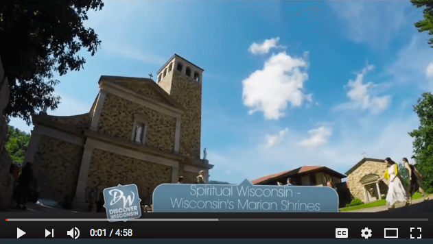 Discover Wisconsin : Shrine of Our Lady of Guadalupe (Video)