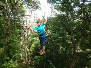 Summer High Ropes Challenge @ Eagle Bluff Environmental Learning Center | Lanesboro | Minnesota | United States