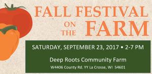 Fall Festival on the Farm @ Deep Roots Community Farm | La Crosse | Wisconsin | United States
