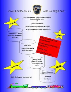 Onalaska Police Department's 8th Annual National Night Out @ Quincy Street Park | Onalaska | Wisconsin | United States