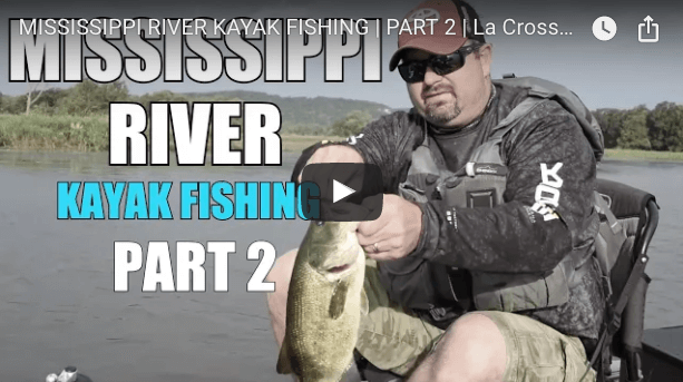 Kayak Fishing Mississippi River Backwaters | Part 2 (Video)